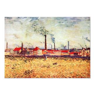 Factories by Vincent van Gogh Card