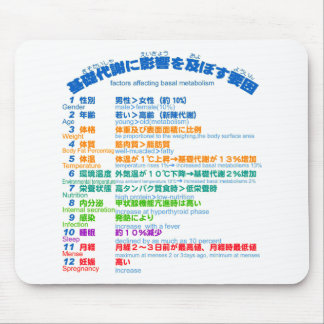 factors affecting basal metabolism japanese mouse pad