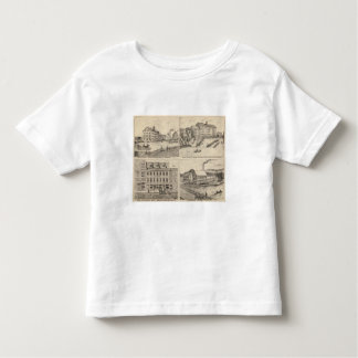 Factory and tannery in Vergennes T-shirt