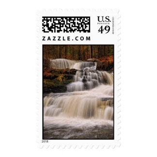 Factory Falls in Northeastern Pennsylvania Postage