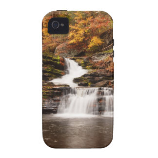 Factory Falls in the Poconos Vibe iPhone 4 Case