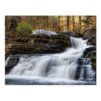 Factory Falls in the Poconos Postcard