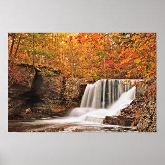 Factory Falls, Pennsylvania Posters