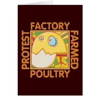 Factory Farm Animal Rights Card