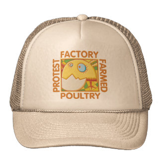 Factory Farm Animal Rights Hats
