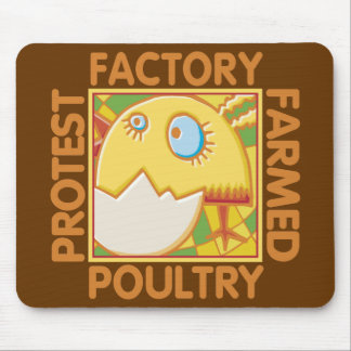 Factory Farm Animal Rights Mouse Pad