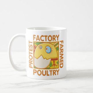 Factory Farm Animal Rights Classic White Coffee Mug