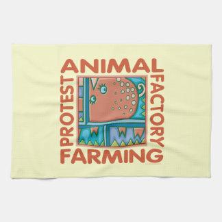 Factory Farming Kitchen Towel