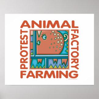 Factory Farming Poster