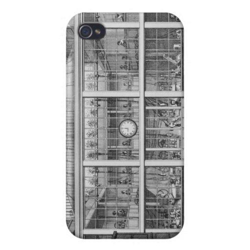 Factory for shotgun cartridges, Usine Chaudun Cover For iPhone 4