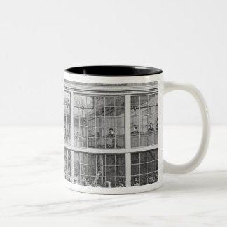 Factory for shotgun cartridges, Usine Chaudun Two-Tone Coffee Mug