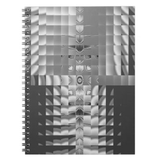 Factory Fractal Design Spiral Notebook