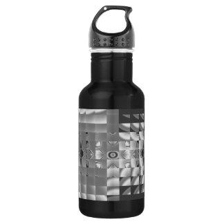 Factory Fractal Design Stainless Steel Water Bottle