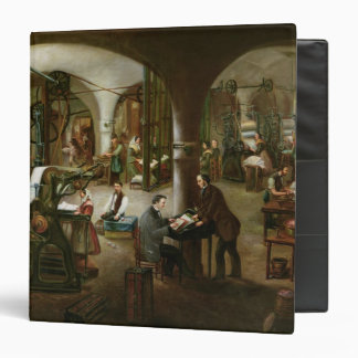 Factory in the Rue d'Aubagne, 1861 Binder