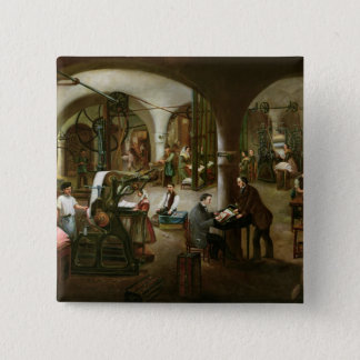 Factory in the Rue d'Aubagne, 1861 Button