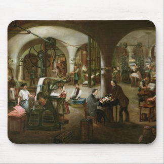 Factory in the Rue d'Aubagne, 1861 Mouse Pad