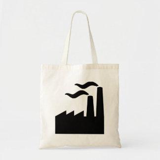 Factory industry tote bag