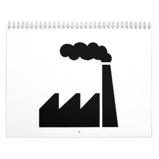 Factory logo calendar