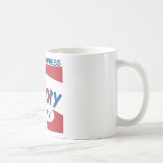 Factory Party Classic White Coffee Mug