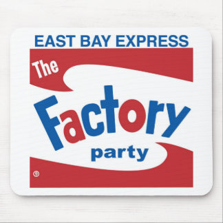 Factory Party Mouse Pad