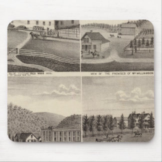Factory, Stores and Residences, Minnesota Mouse Pad