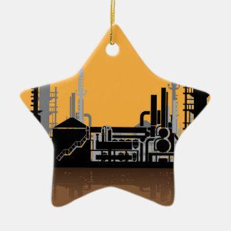 Factory vector ceramic ornament
