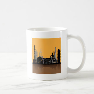 Factory vector coffee mug