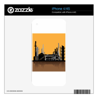 Factory vector decals for iPhone 4S