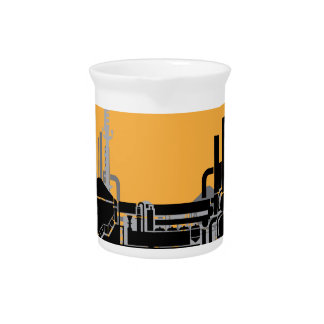 Factory vector drink pitcher