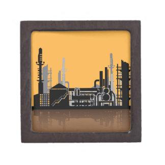 Factory vector jewelry box