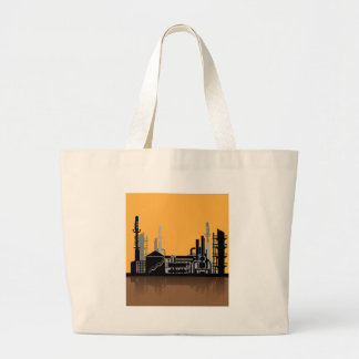 Factory vector large tote bag