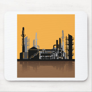 Factory vector mouse pad