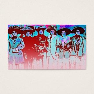 Factory Women Strike 1909 Business Card