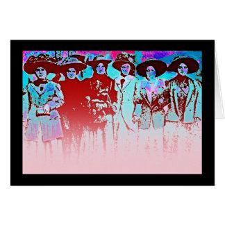 Factory Women Strike 1909 Card