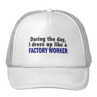 Factory Worker During The Day Hats