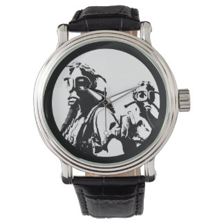 Factory Worker Gas Masks Wristwatches