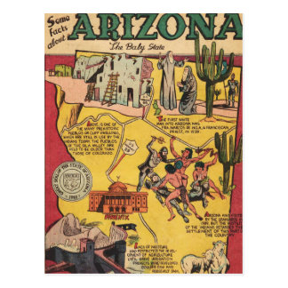 Facts About Arizona Post Card