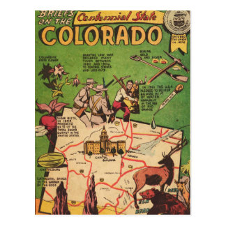 Facts About Colorado Postcard