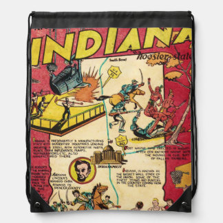 Facts About Indiana Drawstring Bag
