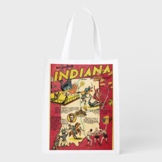 Facts About Indiana Reusable Grocery Bag