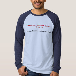 Facts and Science Tee Shirt