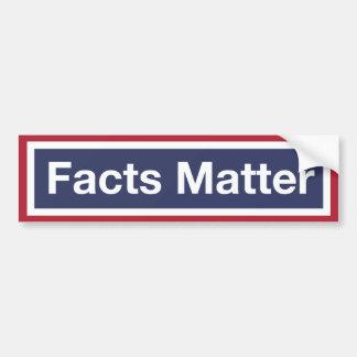 Facts Matter. Resist Trump! Bumper Sticker