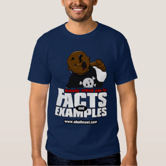 Facts n Examples -Slaus T-shirt