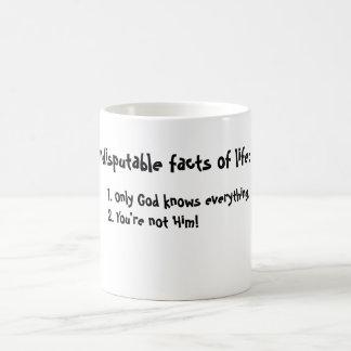 Facts of Life Coffee Mug