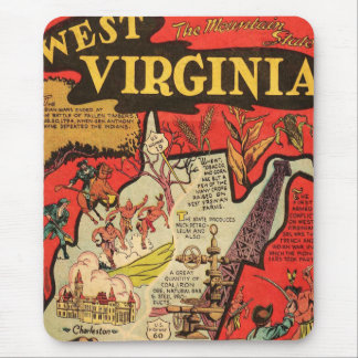 Facts of west Virginia Mouse Pad