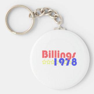 Facturaciones 1978 llavero personalizado