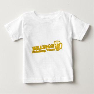 Facturaciones que beben las camisetas del equipo camisas