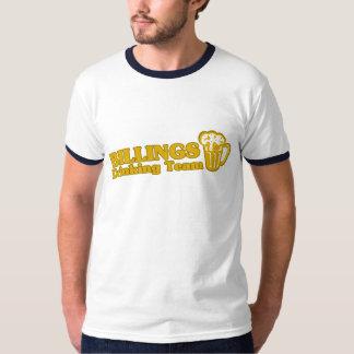 Facturaciones que beben las camisetas del equipo remeras