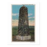 Facturaciones, TA - vista del monumento de Tarjeta Postal