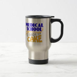 Facultad de Medicina - pedazo de torta Taza De Viaje